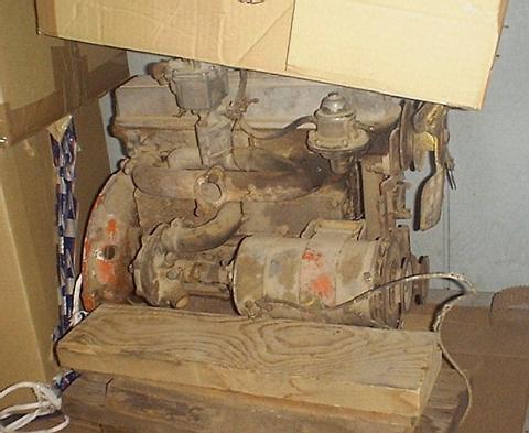 Midget engine Tq crosley